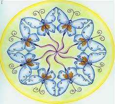 Een mandala is een cirkelvormige tekening, die dient om aan de hand ...: www.sansalvatorgemeenschap.nl/site/werkgroepen/mandala-tekenen